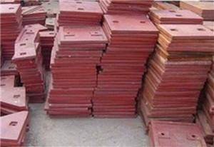impact crusher wear liner plate for quarry