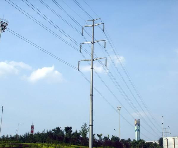 steel monopole tower