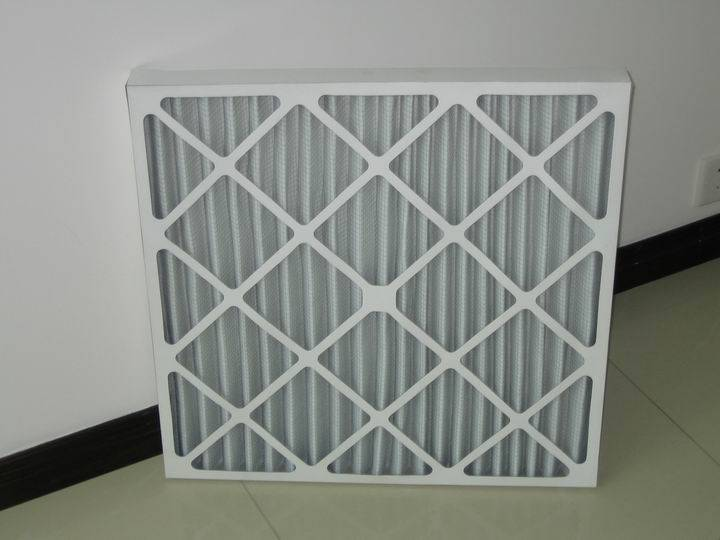 paper frame for board air filter