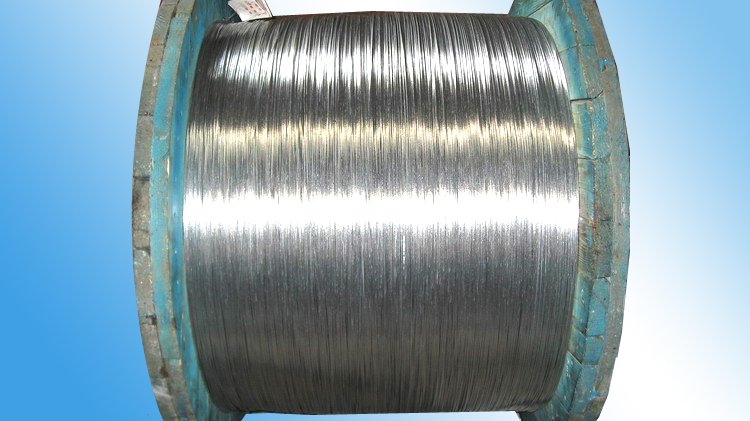 galvanized steel wire and strand for fiber optical cable