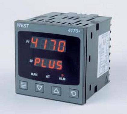 West P4170 1/4 DIN Valve Motor Drive Controller