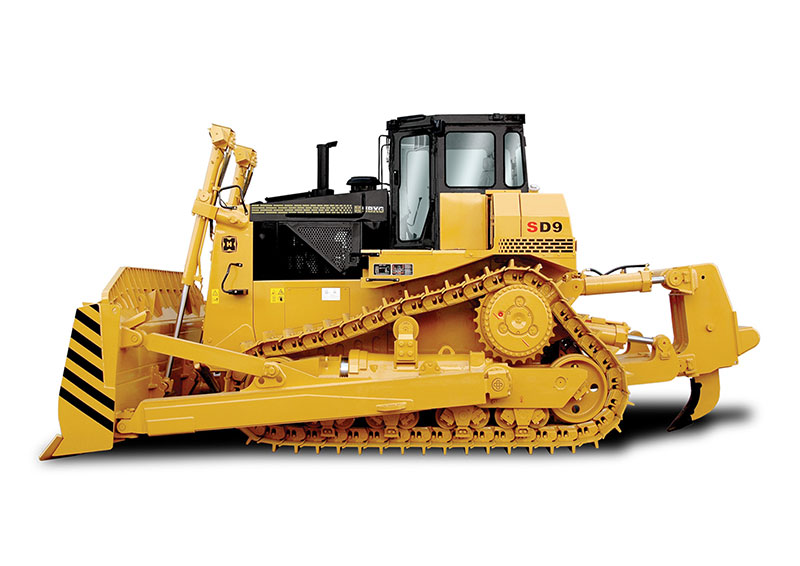 Total Hydraulic Controlled Bulldozer Used For Irrigation Engineering