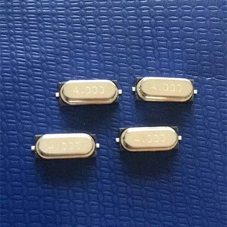 49SMD Crystal Resonator,4MHz Quartz Crystals