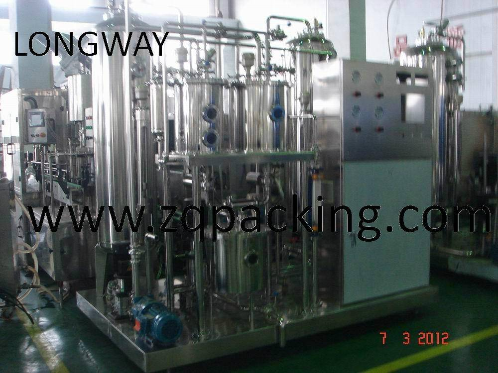 Beverage Mixer for Soda Water