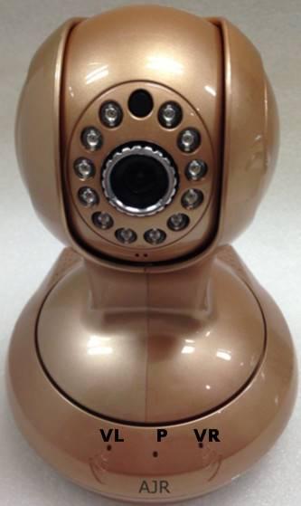 Wireless WIFI Indoor P2P IP Network Video Audio Camera Smartphone Baby Monitor