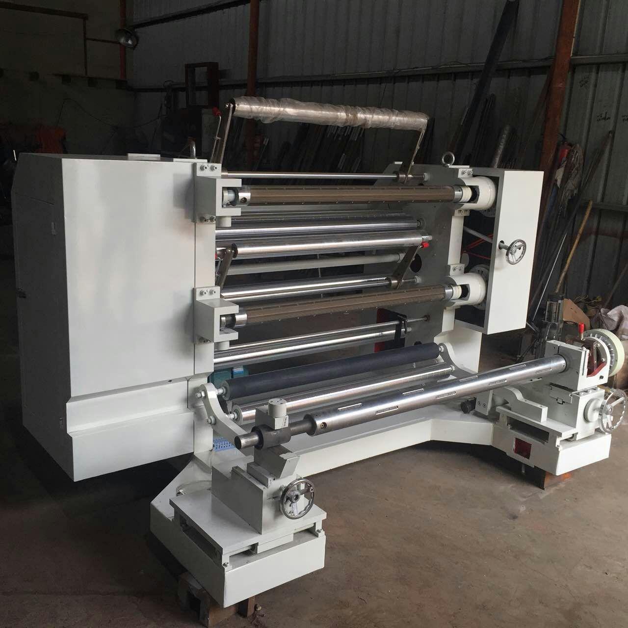 No-glue slitting machine