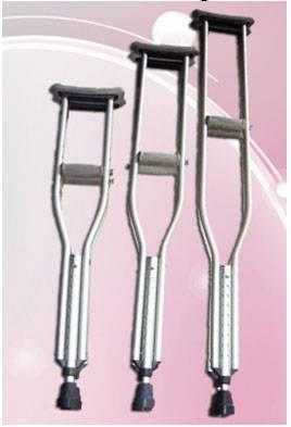 Aluminium crutch