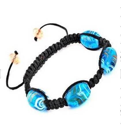 Sell Handmade Glass head Bracelet,imitation bracelet