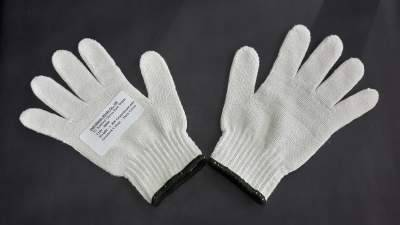 Cotton Knitted Gloves 7G