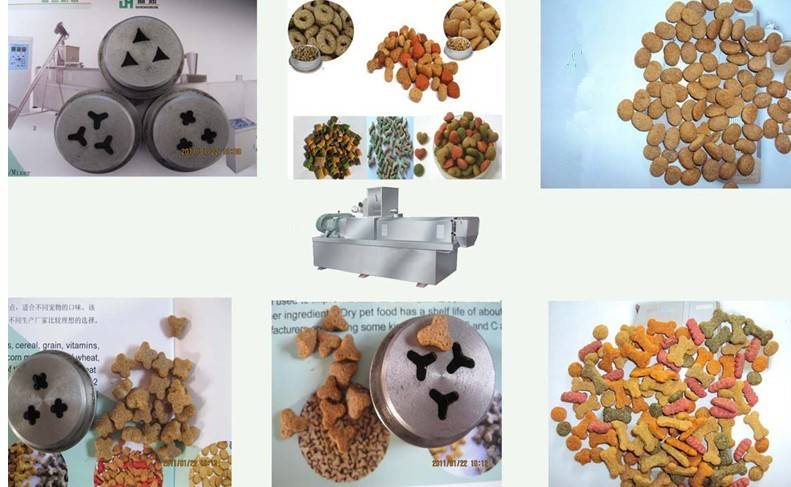 Dog cat animal food pellet machine