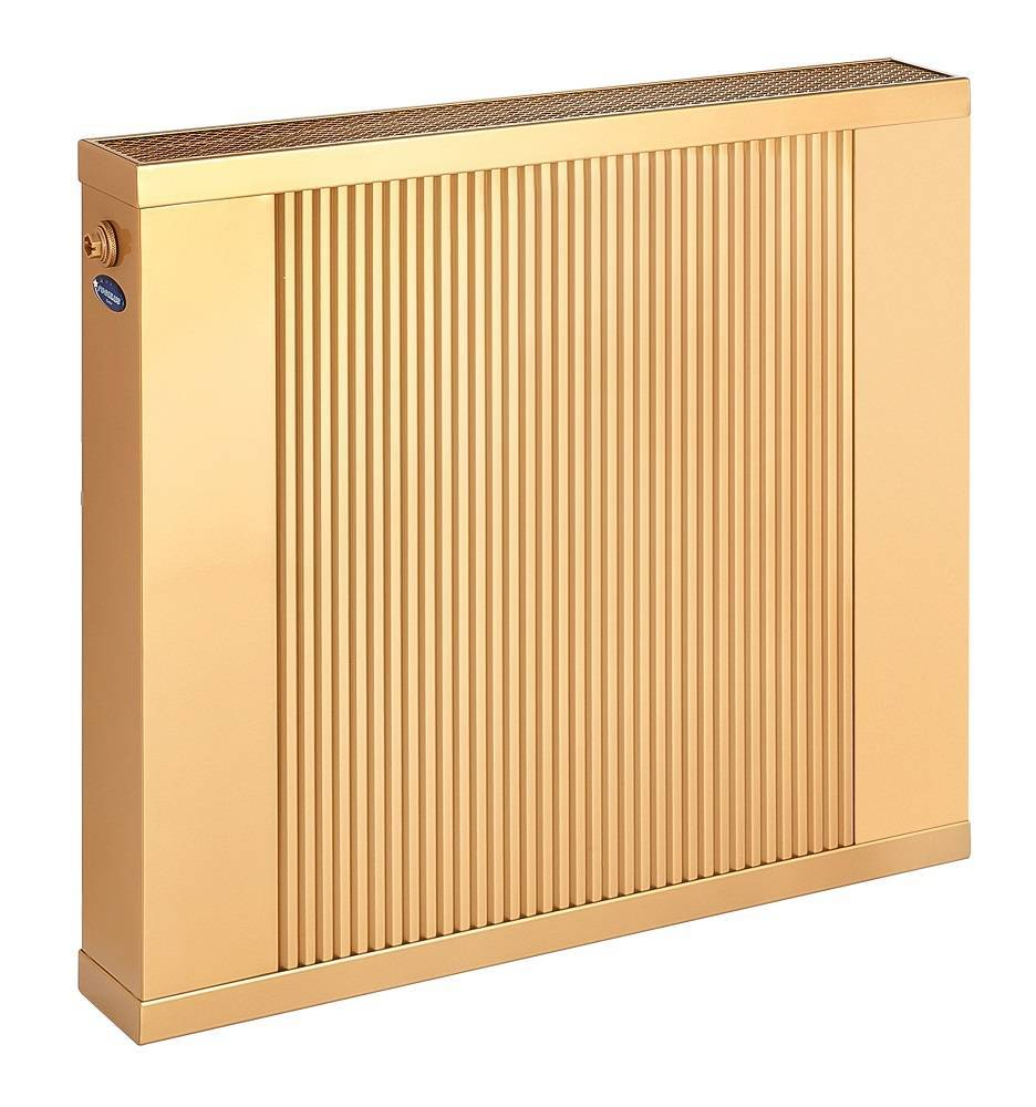 Copper-aluminium wall water radiator, wall heater