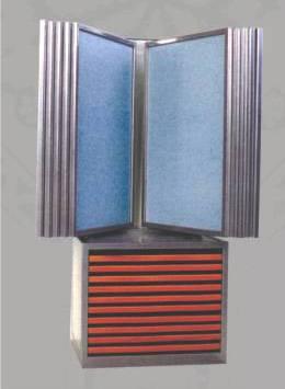 steel display rack for tile