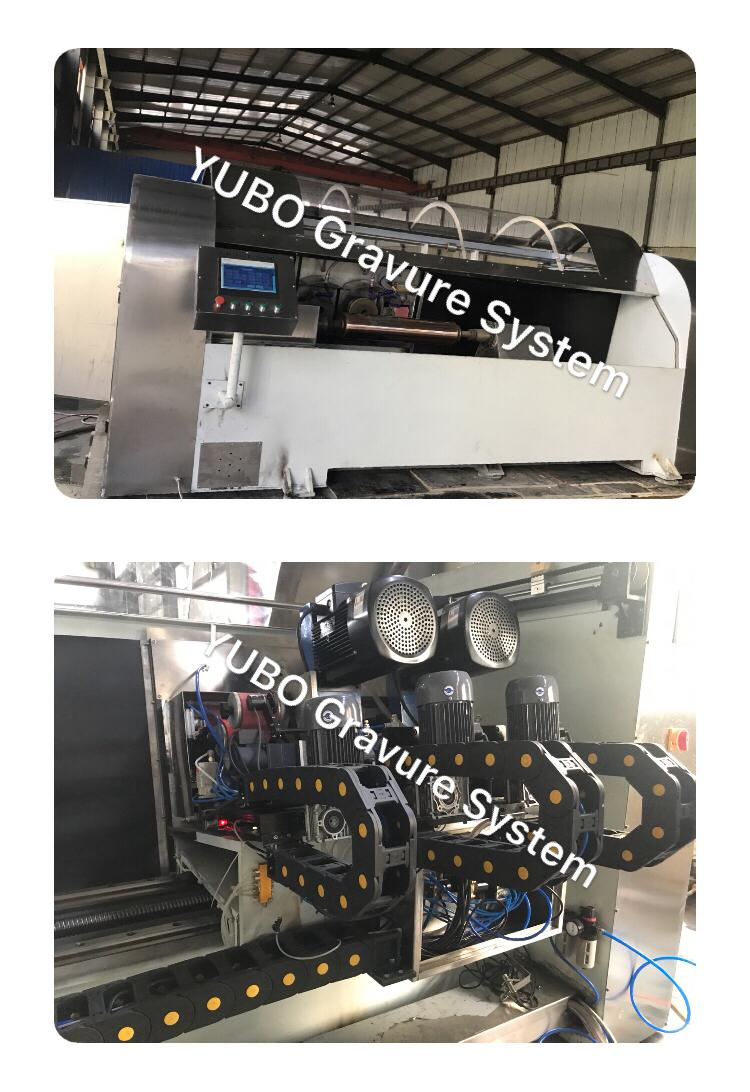 Three-head Copper Grinding polishing Machine for rotogravure printing