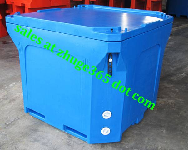 Oversized 800Litre Insulated Fish Container