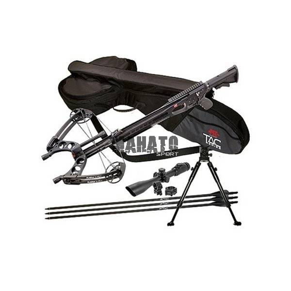 PSE TAC 10i Crossbow Package with Accushot Scope Case and Bipod