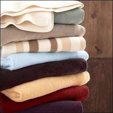 100% wool warm blanket