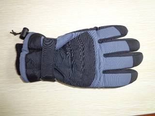 The winter ski gloves, sports gloves