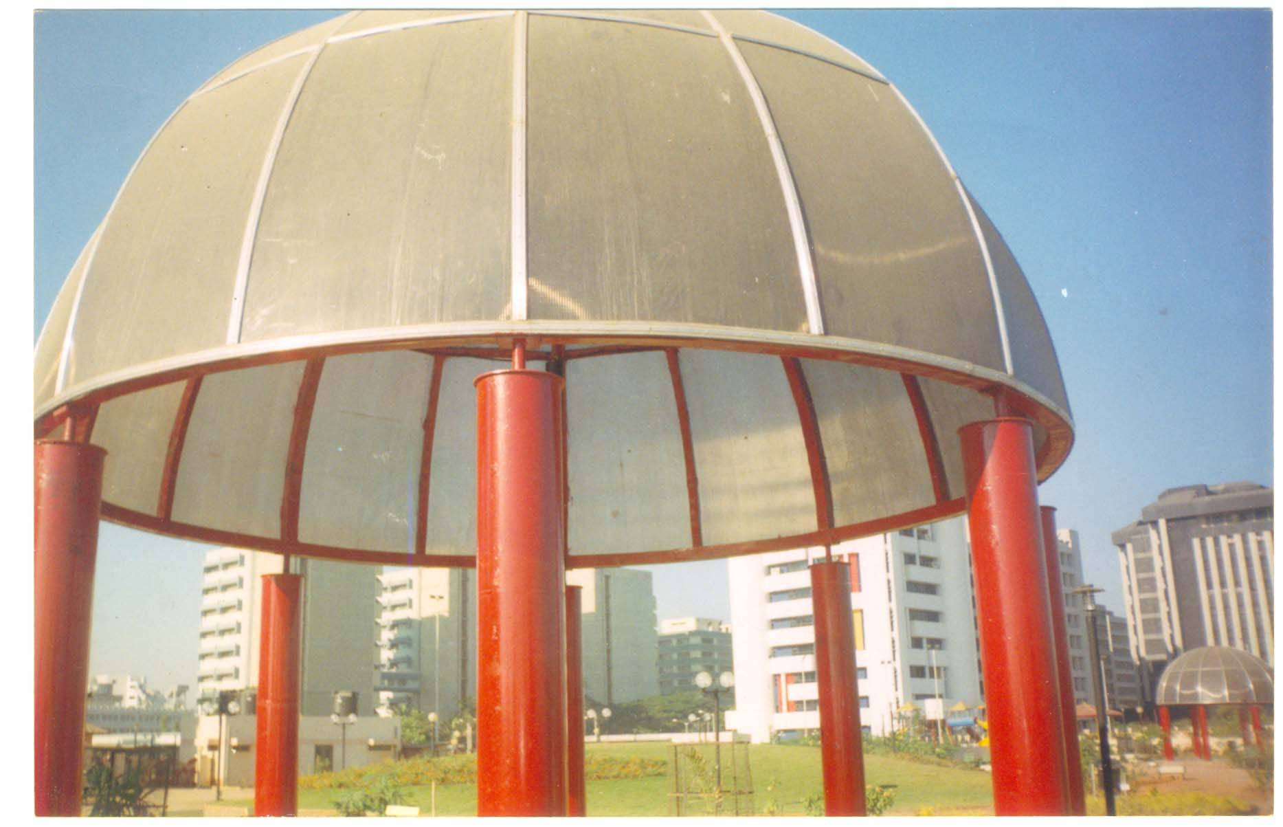 manufacturer of space frame,domes,skylight and canopies structures