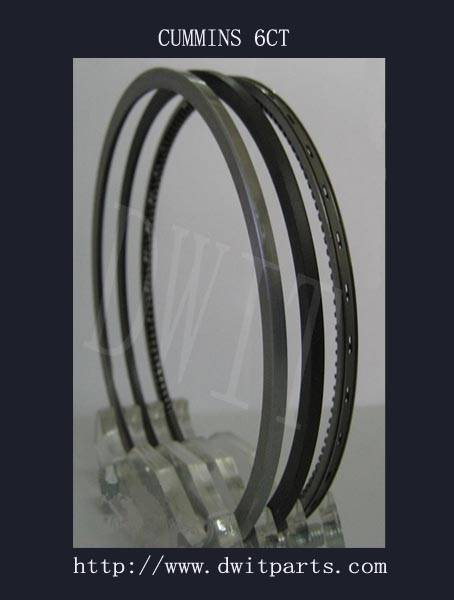 Auto piston ring compatible with CUMMINS series