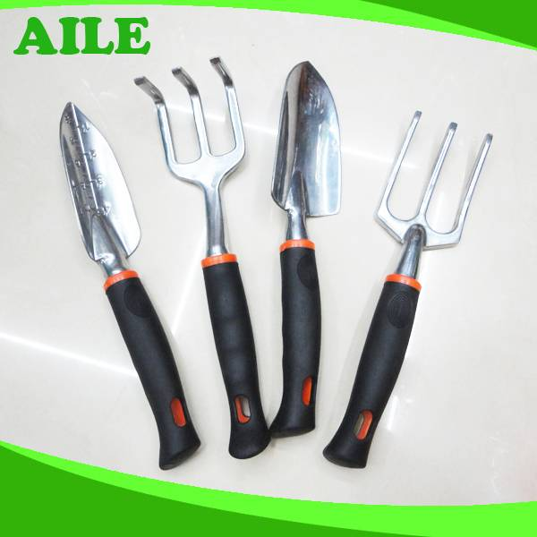 Garden Hand Tool Set With PP+TPR Handle