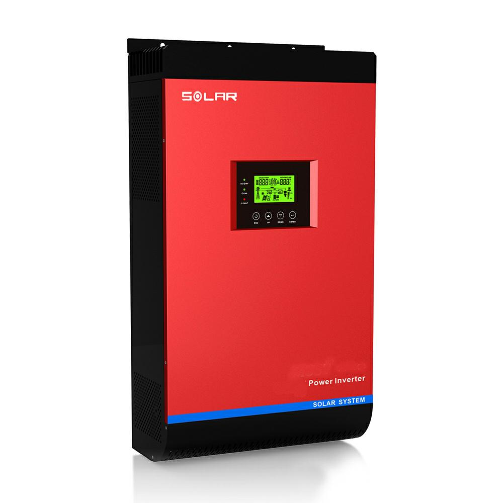 High frenquency hybrid solar inverter