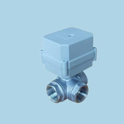 Mini Electric Stainless Steel Automatic Control Valve