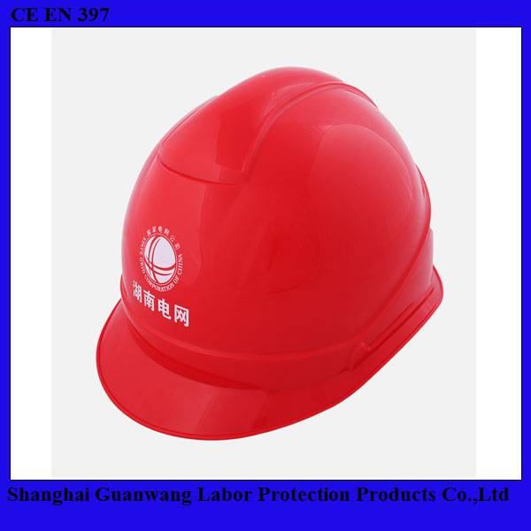 Hard Hats With Light/ Safety Helmet With Chin Strap For Electric Workers