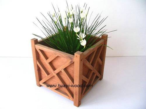 Wood Planter Boxes, Garden Planters