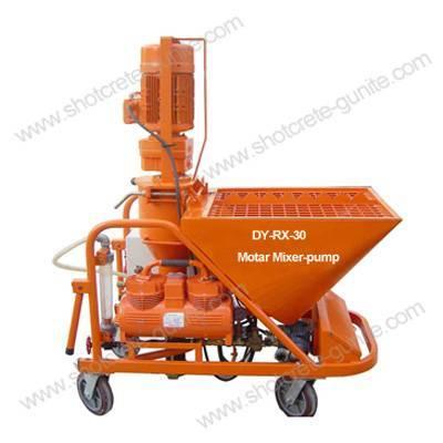 DY-RX-30 Plastering Mixer-pump
