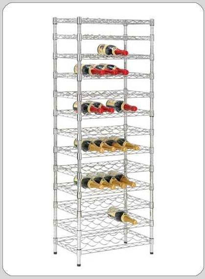 selling dining chrome wine racks