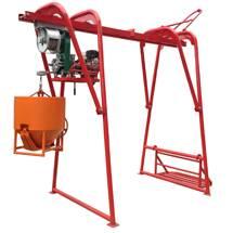 engine powered hoist PBH500(swing hoist)