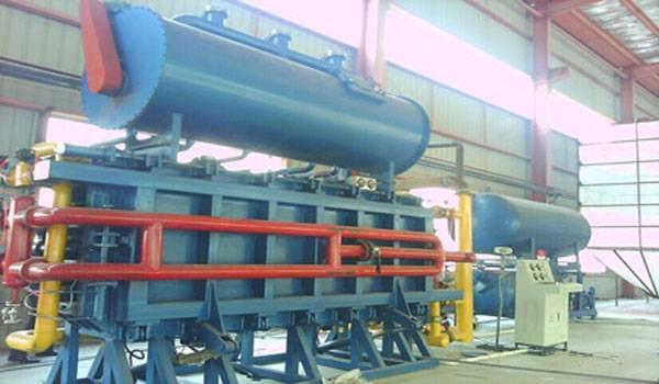 eps block molding machine with vaccum barrel