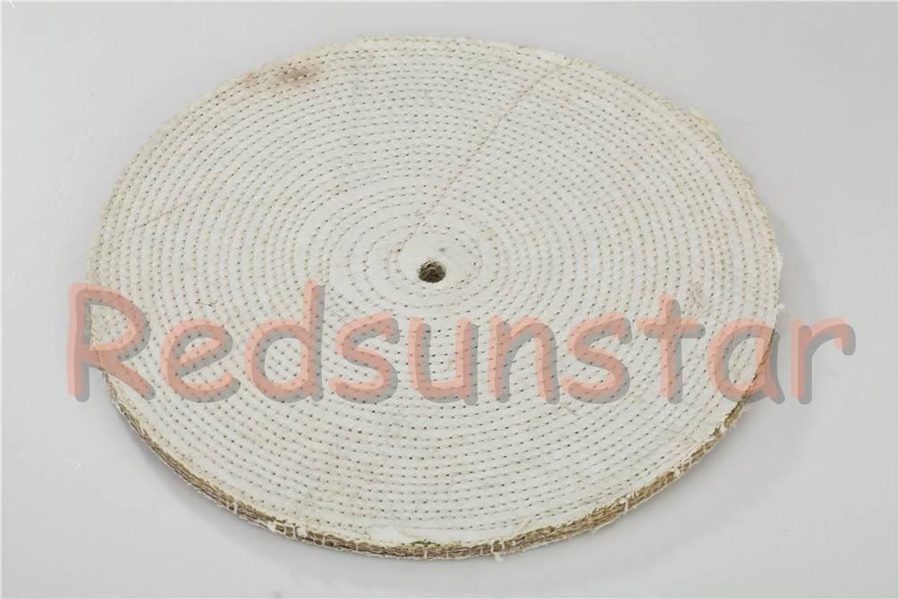 Polishing sisal wheel