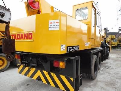TADANO used cranes tg-250e