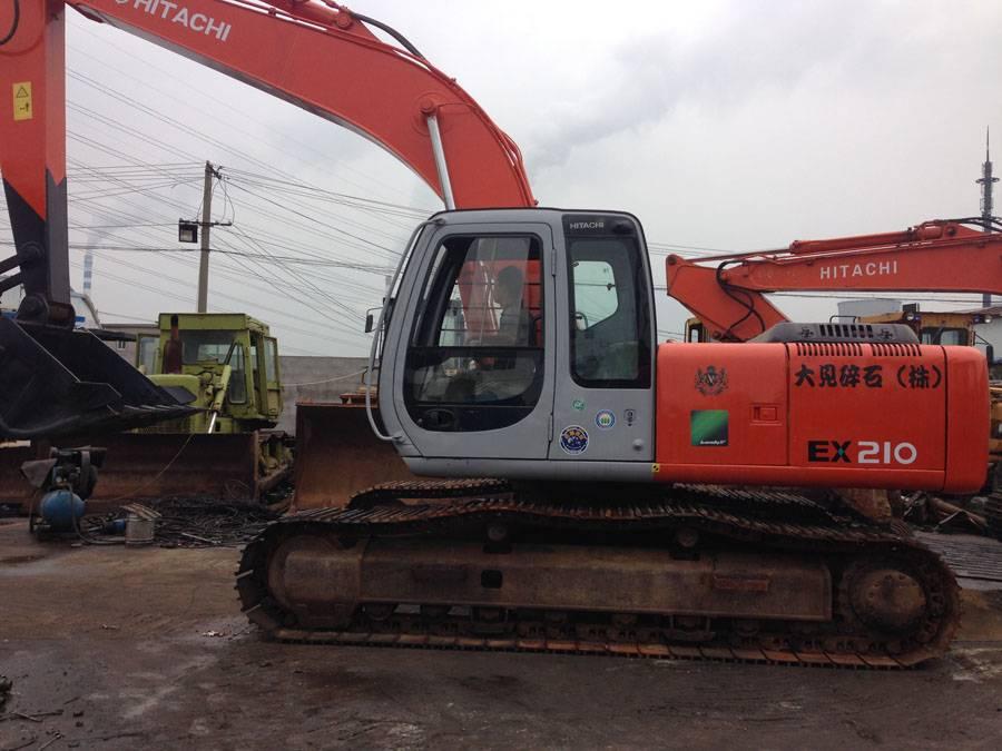 Used Hitachi Excavator Ex210-5