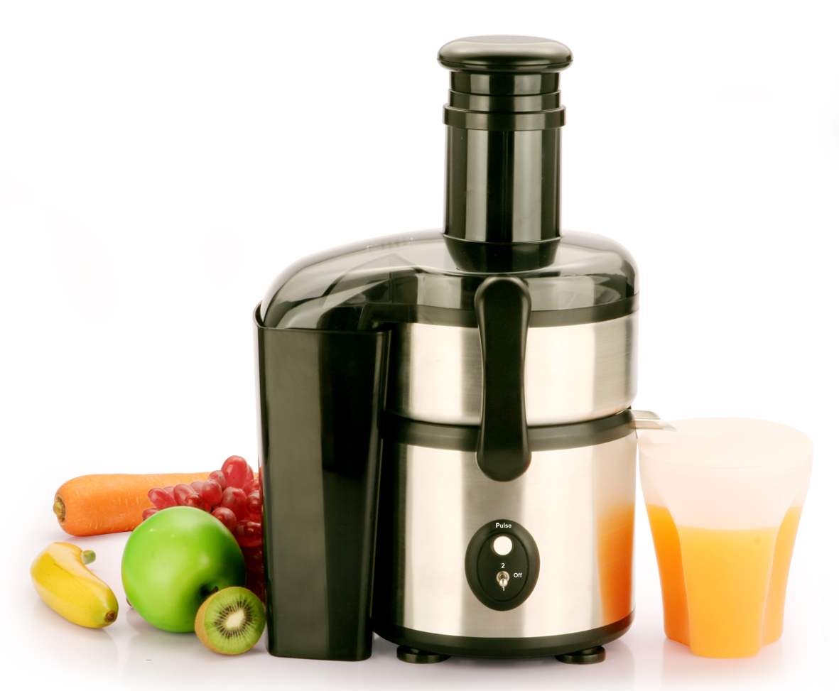 KP60SB Stainless-Steel Electric Juice Extractor Power Juicer