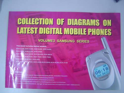 repair technique books for mobilie phone