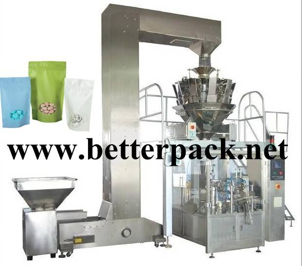 Auto doy pack machine stand up bag packaging machine