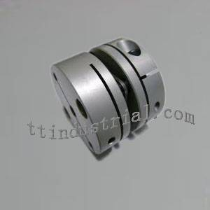 Diaphragm/plate/disk coupling