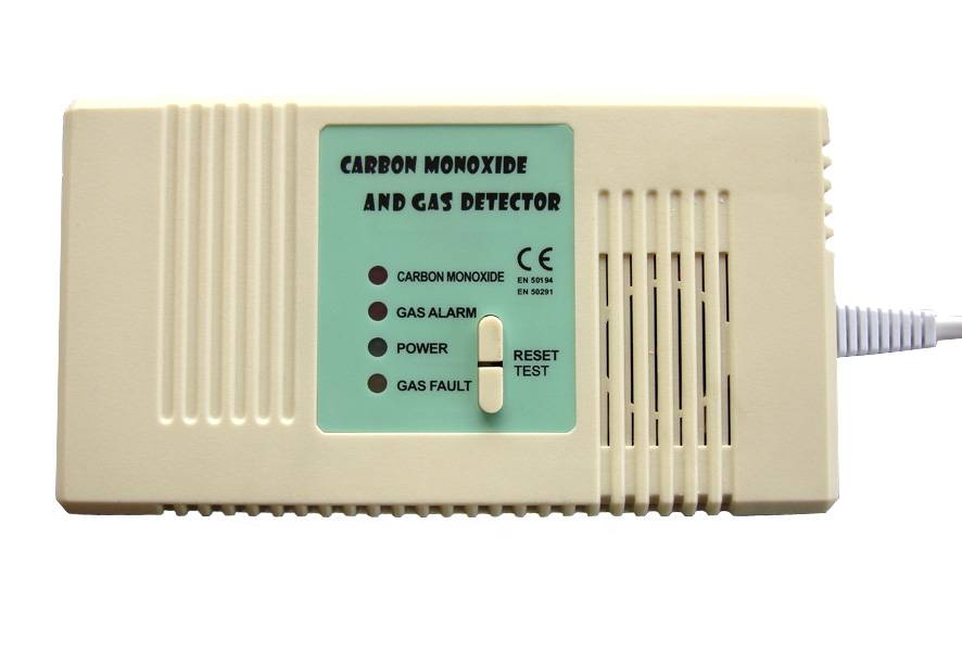 gas&CO detector (compound gas and CO alarm )