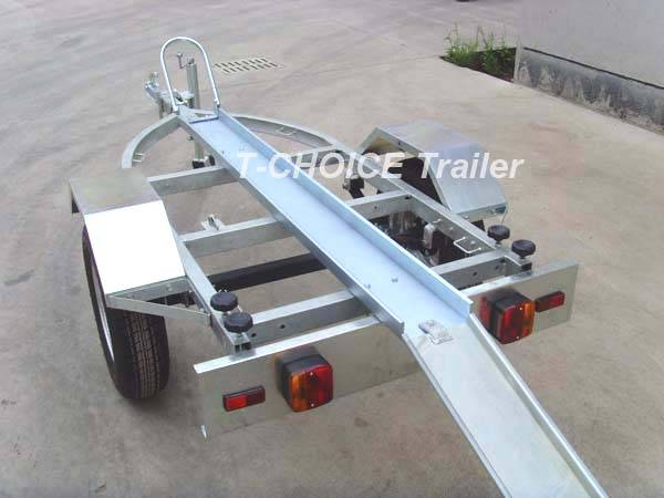 Motocycle trailer