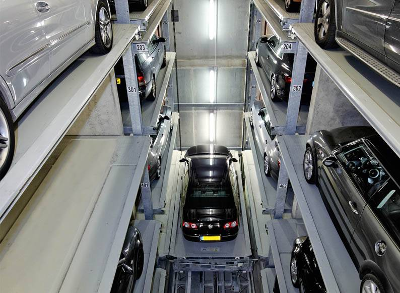 PPY-Z2 Surface Shifting Garage