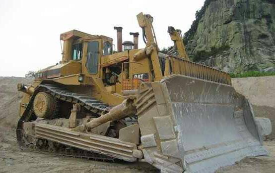 Used cat d11r bulldozer