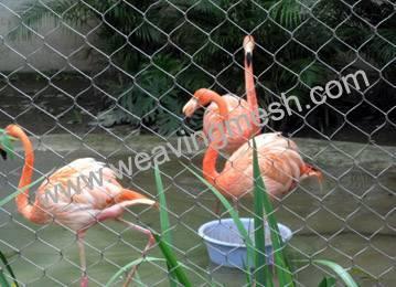 aviary mesh,rope mesh,zoo mesh,animal enclosure