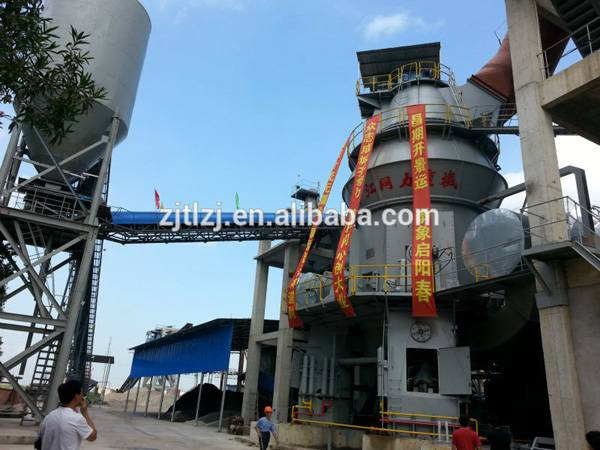 vertical mill for cement making flyash gypsum grinding