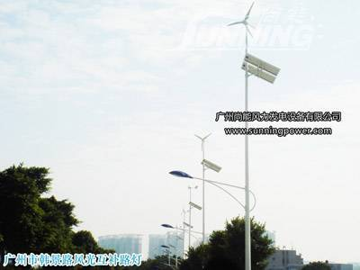 Wind Solar led street light