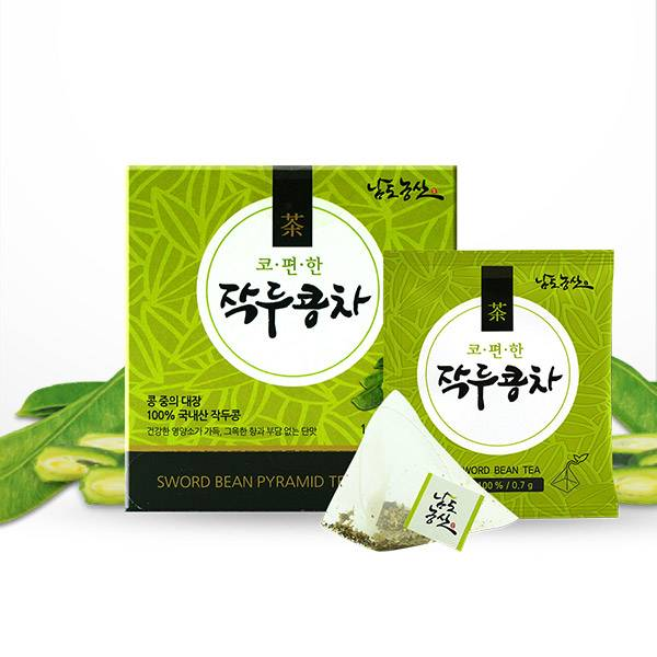 Sword Bean Tea (Pyramid type Tea bag)