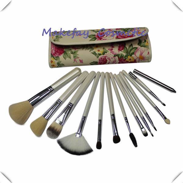 Colorful High Quality Synthetic Makeup Brush Set For Gift