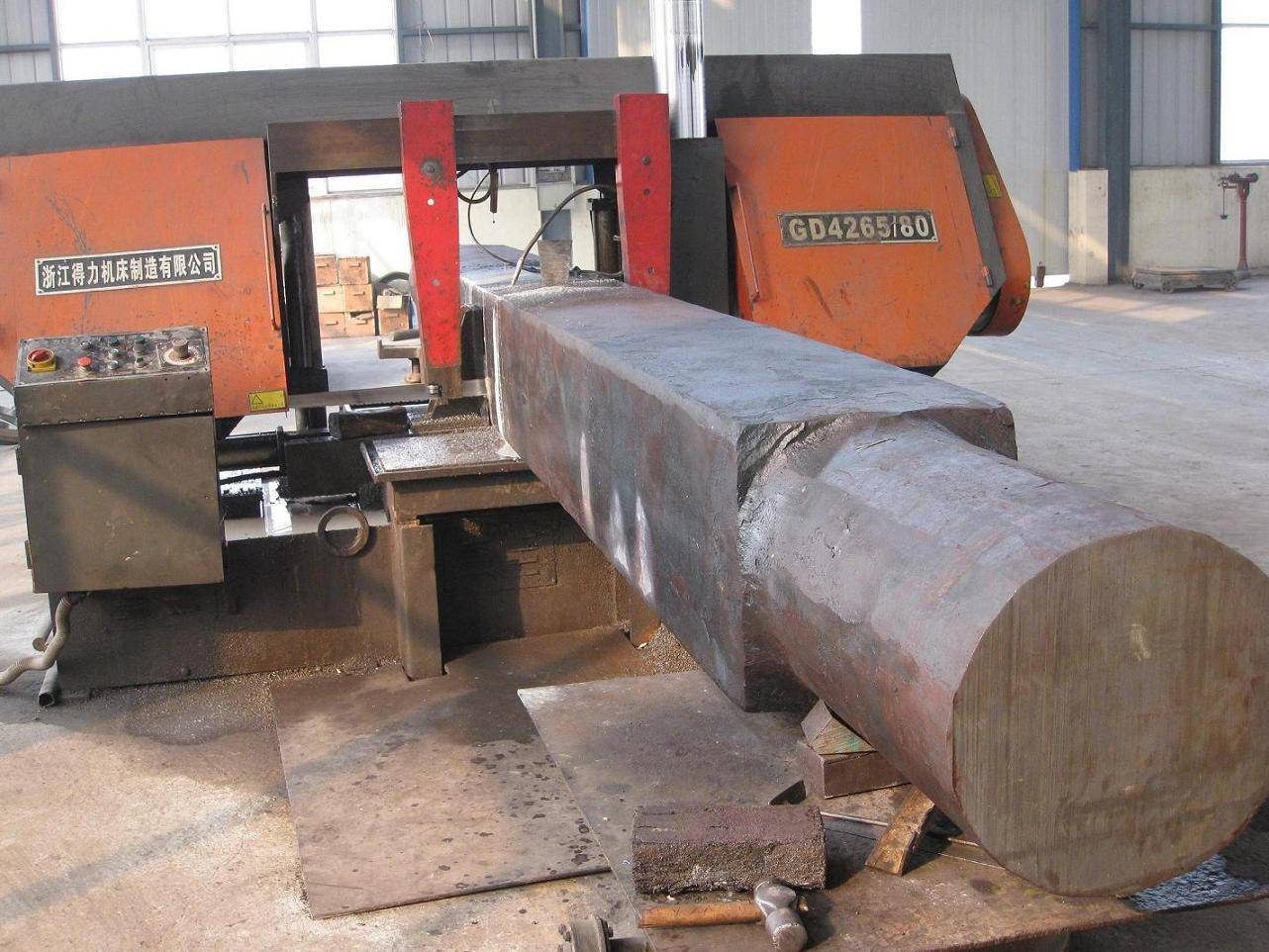 OEM heavy square shaft forging