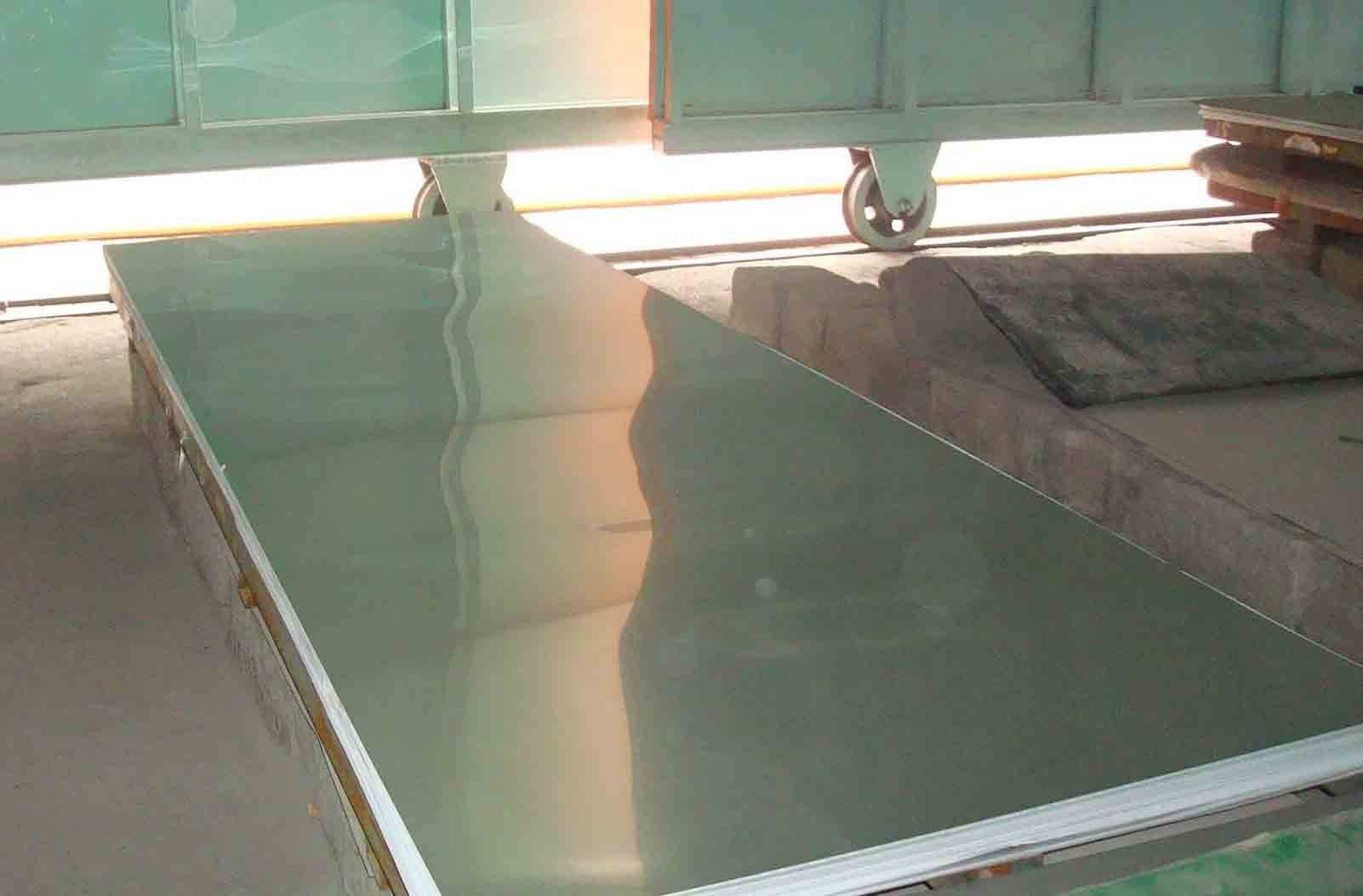 Polished 310S stainless steel plate